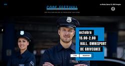 Site web cops vestival