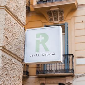 Création d'un logo pour un centre médical