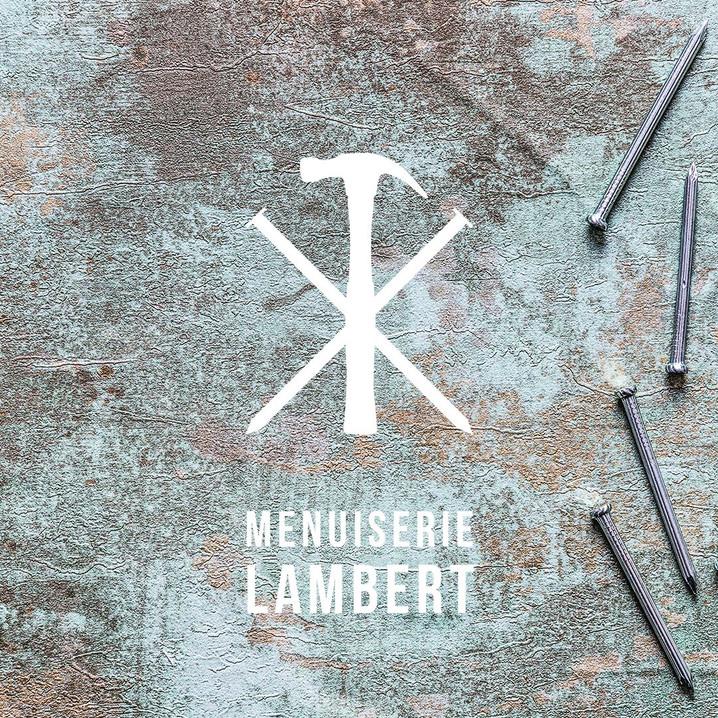 Création d'une image de marque pour La menuiserie Lambert