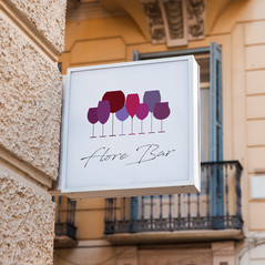 Identité graphique bar à vins