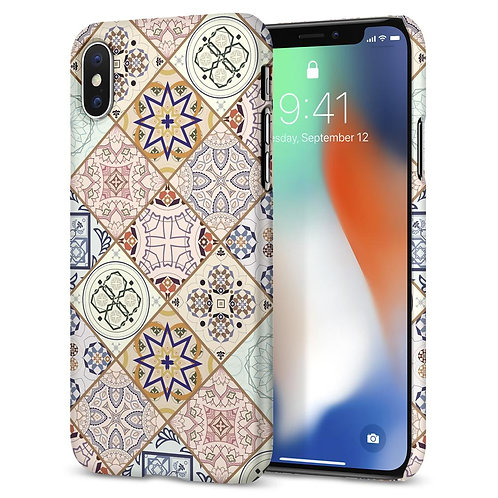 iPHONE X CASE THIN FIT ARABESQUE
