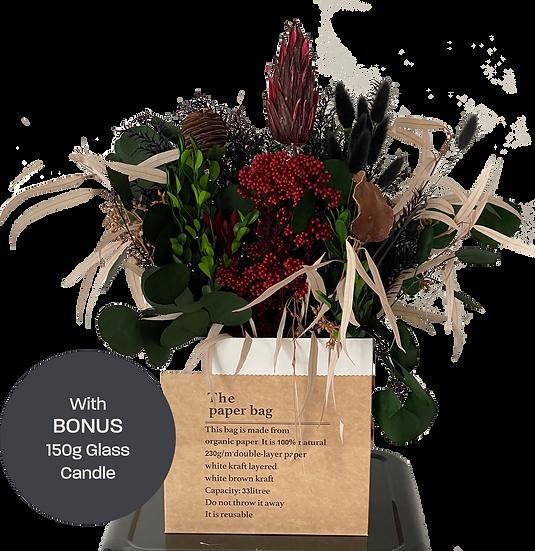 Amity Flush - Dried Flower Arrangement