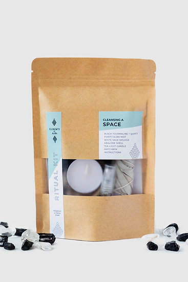 Cleansing a Space Ritual Kit - FREE SHIPPING