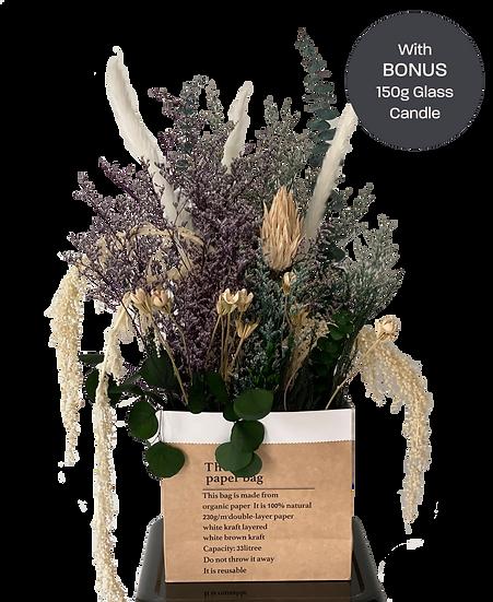 Cheerful Intuition- Dried Flower Arrangement