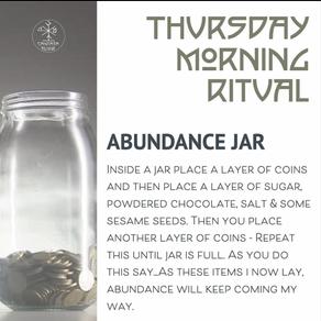 Abundance Jar Ritual
