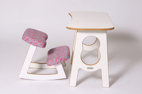 lebendig ergonomic chair and table set for kids