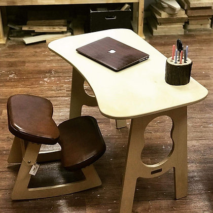 Natürlich - Ergonomic Chair and Table Set for Kids