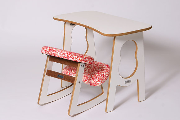 FRIEDVOLL - Ergonomic Chair and Table Set for Kids