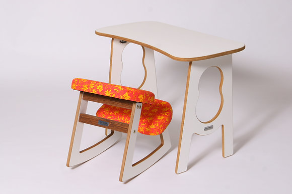 LEBHAFT - Ergonomic Chair and Table Set for Kids