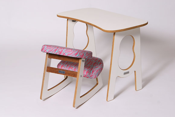LEBENDIG - Ergonomic Chair and Table Set for Kids