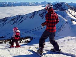 Lil' Ripper Gripper skier