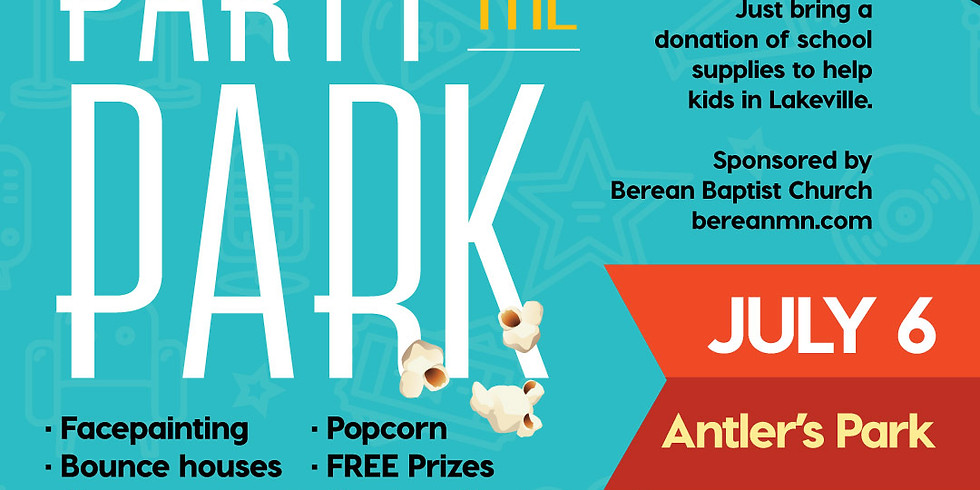 Party in the Park - Outdoor Movie