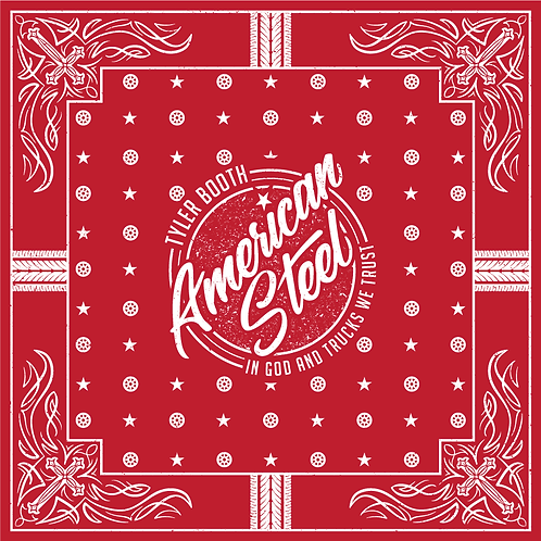 Tyler Booth Bandana Red/Blue