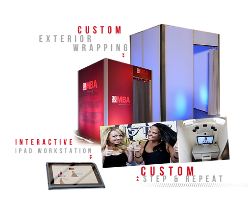 Custom branding for photo booth rentals in NYC & Long Island
