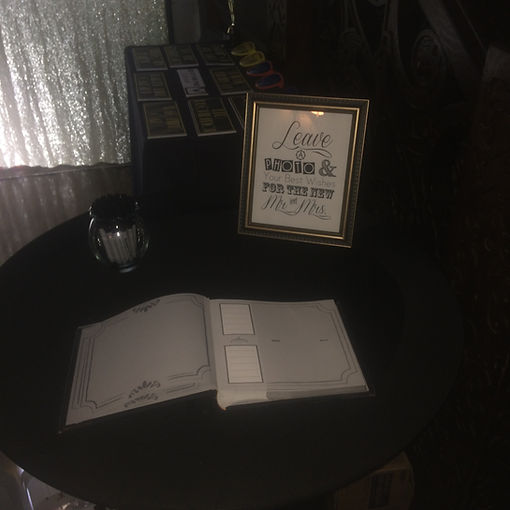 Memory Book with Custom Sign