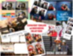 omg photo booth rental nyc long island custom print template