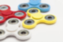 Colorful Fidget Spinners