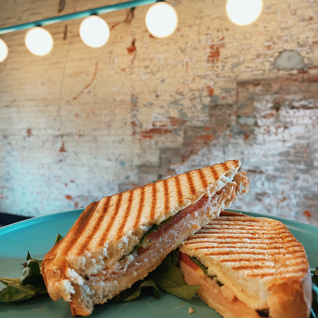 The Turkey Basil Panini