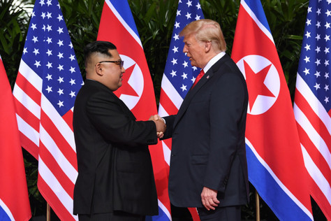 Trump & Kim can shake on it, can you?