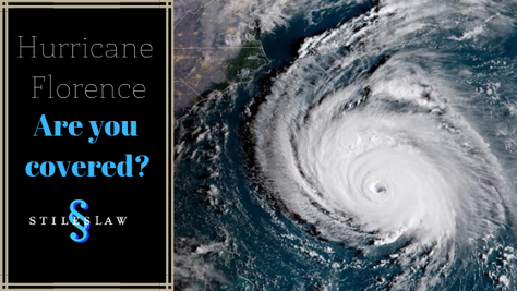 Hurricane Florence - What does Flood Insurance Cover?
