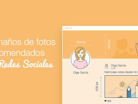 Redes sociales: ¿Qué tamaños de imagen usar en cada plataforma?