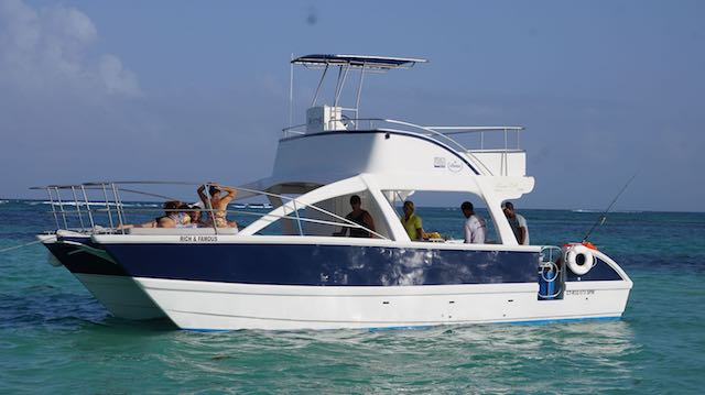 Punta Cana private  fishing snorkel tour