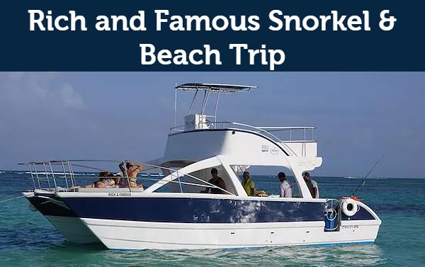 Rich & Famous Catamaran (8pax)
