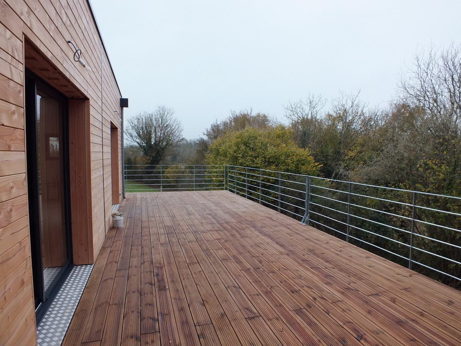 Construction neuve bois (terrasse)