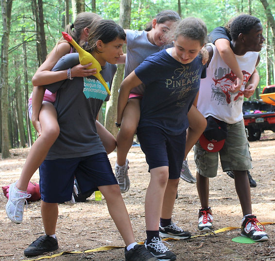 team building and teamwork adventure games