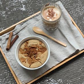 Stroopwafel baked oats