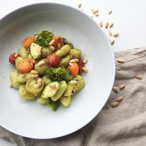 Gnocchi met vegan pesto