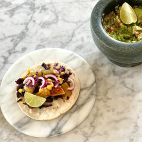 Taco's met cilantro-lime rijst
