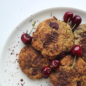 Cherry chocolade koekjes