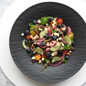 Regenboog side salad
