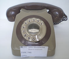 GPO Type 746 Collection of historic telecom equipTelecom milestones, telecom history, virtual museum, Amateur Radio, Telephone Answering, Telegraph history, Telephone History, Vacuum Tubes History, Telephone answering machines collectio– Telrad (1970's),