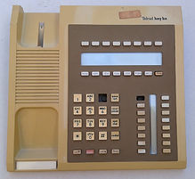 TELRAD - KEY BX TELEPHCollection of historic telecom equipTelecom milestones, telecom history, virtual museum, Amateur Radio, Telephone Answering, Telegraph history, Telephone History, Vacuum Tubes History, Telephone answering machines colONE FRONT PANEL,