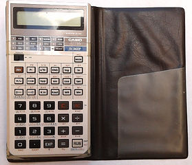 CASIO  fx-3600P, Collection of computers calculators and office equipment, SINCLAIR ZX81, HP iPAQ 1945 pocket PC, Sliding rule NESTLER 0123 Riez,Zeny LC-200, Zeny SR-100,Casio fx-3600P, Casio SF-7000, Citizen CX-75, Seiko EK450J, Seiko DA71K, Remington Env