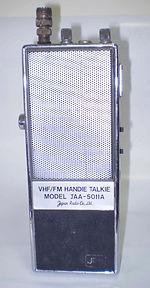 """JAPAN RADIOMOTOROLA """"WALKIE - TALKIE"""" P31-4, JRC JAA - 5011A, VHF/FM Walkie-Talkie, Motorola HT-200, Standard Radio SR-C730, SR-C830, SR-C831, SR-C803, SR-C890, Lafayette SC-D12, Motor0la GP350, MH-70, P-43, Max Trac, MAXAR, E.F. John Co., Ltd. JAA-5011A,"""