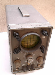 "EICO  430  GENERTest and Measurement Instruments collecyion,""Range-Doubler"" KRT-500, EICO 430 oscilloscope, BC-221 frequency MeterAL PURPOSE 3"" OSCILLOSCOPE,"