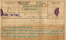 Vintage telegram 1894