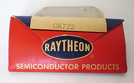 Rayrheon CK722 original packingNecessity is the Mother of invetion, Cooke and Wheatstone Needles Telegraph, Samuel Morse Telegraph, House Hughes and Phelps printing telegraph, Elisha Gray and Alexander Bell the telephone inventors, Almon Strowger rot,