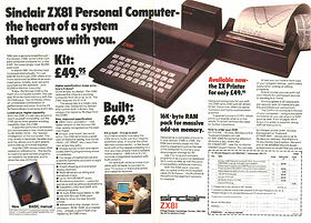 SINCLAIR ZCollection of computers calculators and office equipment, SINCLAIR ZX81, HP iPAQ 1945 pocket PC, Sliding rule NESTLER 0123 Riez,Zeny LC-200, Zeny SR-100,Casio fx-3600P, Casio SF-7000, Citizen CX-75, Seiko EK450J, Seiko DA71K, RX81 Advertisement,