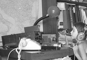 "History of Amateur Radio, 4X4FW, Drake TR-4, Drake RV4, ICOM IC-746PRO, IC-22A, Soviet Army HF receiver R-311, Bao Feng UV-5RA, Lafayette Desk Microphone 99-4607, MFJ-864, Bencher BY-1, Vibroplex ""Original"" Semi-Automatic Key, J-37 Key, Butternut HF9V"