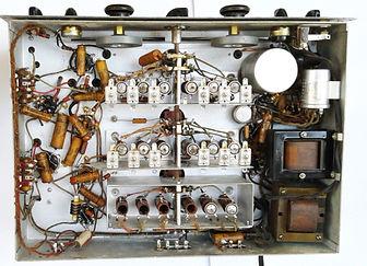 "4X4FW QSL CARD, History of Amateur Radio, 4X4FW, Drake TR-4, Drake RV4, ICOM IC-746PRO, IC-22A, Soviet Army HF receiver R-311, Bao Feng UV-5RA, Lafayette Desk Microphone 99-4607, MFJ-864, Bencher BY-1, Vibroplex ""Original"" , Hammarlund HQ-129-"