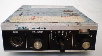 ZODIAC  MINI - 6, CB RADIO Collection, Citizens Band Radio, Heathkit GW-12, Halicrafters CB-17,CB-12, Lafayette HB-23, Realistic TRC-11, Lafayette Micro-66, Zodiac Mini-6, Panasonic J-3250, Realistic TRC-434, Lafayette Dyna-Com3, Dyna-Com 3A, Dyna-Com 5,