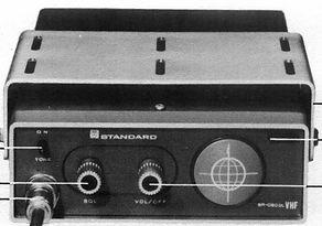 """STANDARD RADIO SR-C803L, MOTOROLA """"WALKIE - TALKIE"""" P31-4, JRC JAA - 5011A, VHF/FM Walkie-Talkie, Motorola HT-200, Standard Radio SR-C730, SR-C830, SR-C831, SR-C803, SR-C890, Lafayette SC-D12, Motor0la GP350, MH-70, P-43, Max Trac, MAXAR, E.F. Johnson LTR"""
