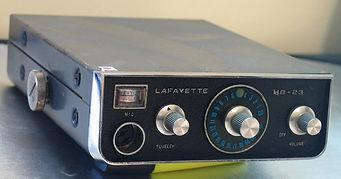 LAFAYETTE  HB-23, CB RADIO Collection, Citizens Band Radio, Heathkit GW-12, Halicrafters CB-17,CB-12, Lafayette HB-23, Realistic TRC-11, Lafayette Micro-66, Zodiac Mini-6, Panasonic J-3250, Realistic TRC-434, Lafayette Dyna-Com3, Dyna-Com 3A, Dyna-Com 5,