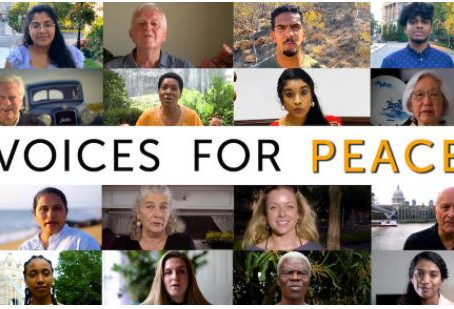 Be a Voice for Peace, on Peace Day and Every Day!
