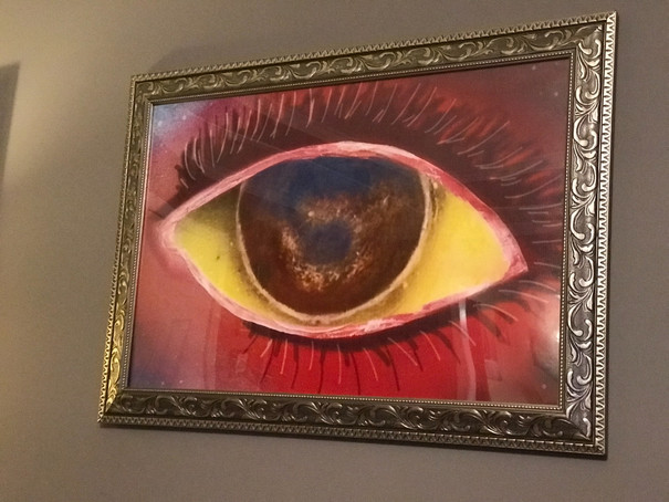 "Eye of the world, Eye, Digital, 20""x30"", Framed, Prints, Space, Stars, Painting, Oils, Frankie Bonze, House Of Pain, 30 Holiday Rambler, Byram, Mississippi, 39272"
