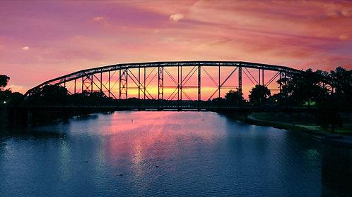 Waco Sunsets (Print)
